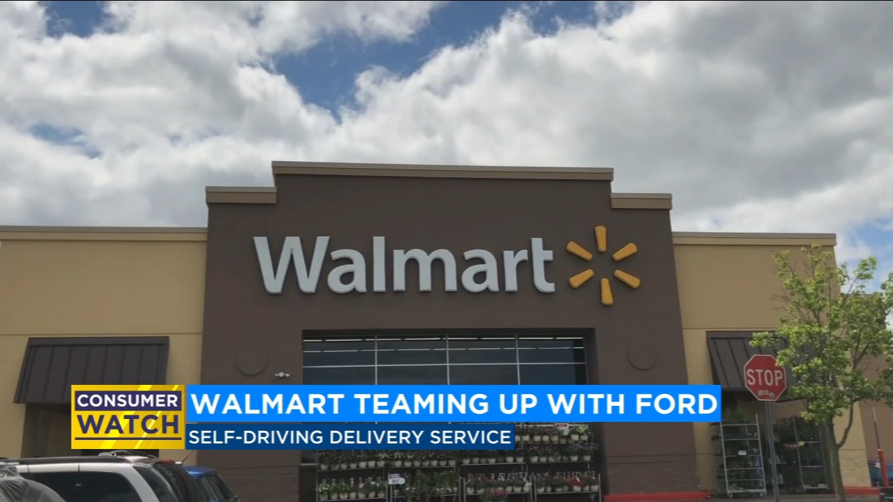 Walmart teams up with Ford to test self-driving delivery service
