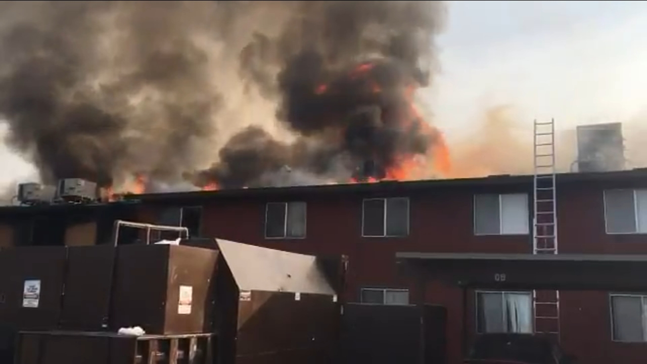 Red Cross assisting two dozen people affected by an East Central Fresno apartment fire
