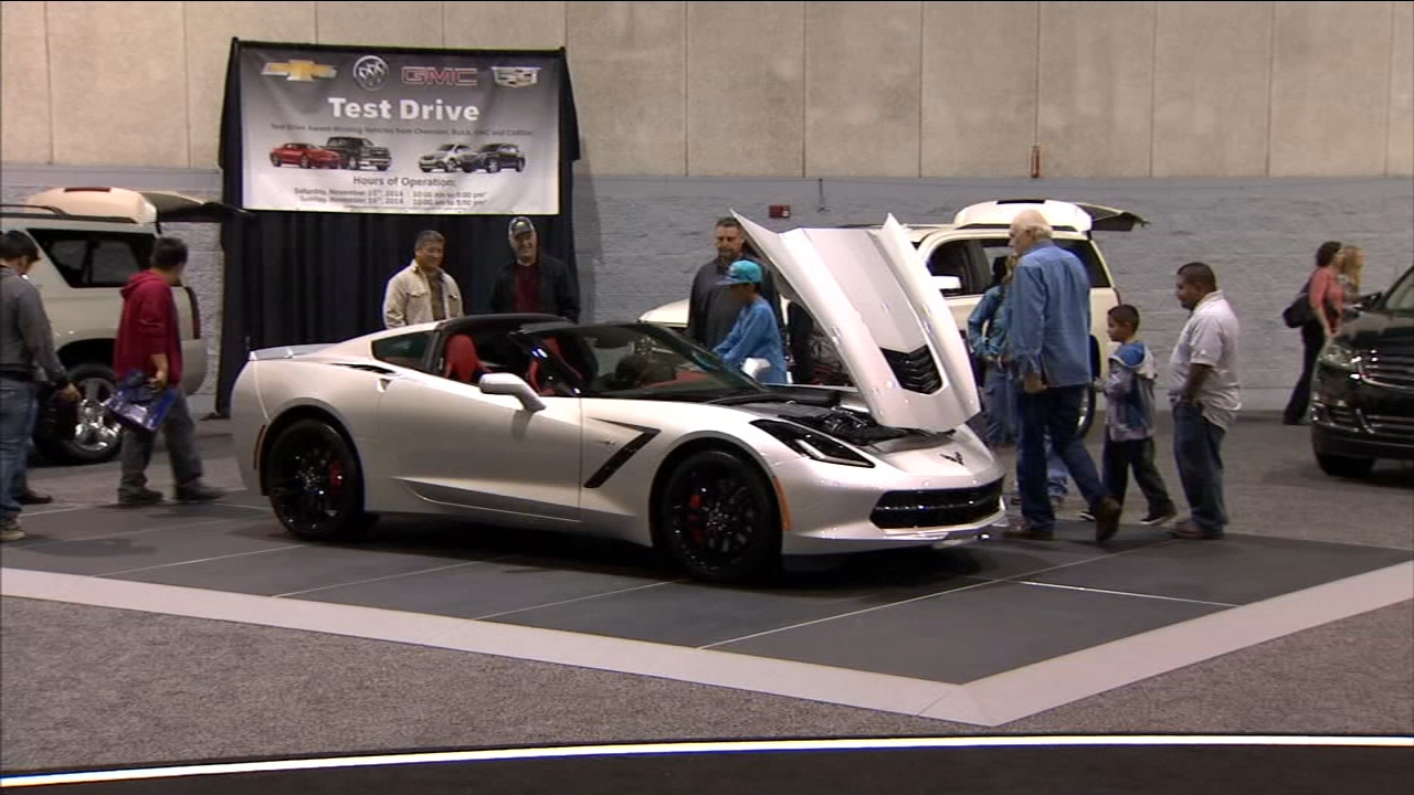 Central California Auto Show kicks off in Downtown Fresno