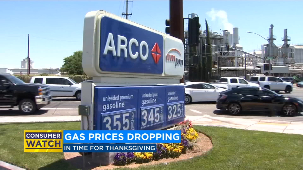 The national average for a gallon of regular has dropped by about 22 cents a gallon