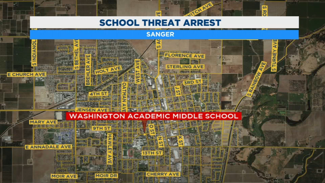 12-year-old Sanger girl arrested for threatening to shoot up school