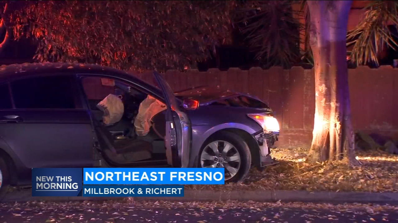 Two teens arrested after leading police on overnight high-speed chase in Northeast Fresno