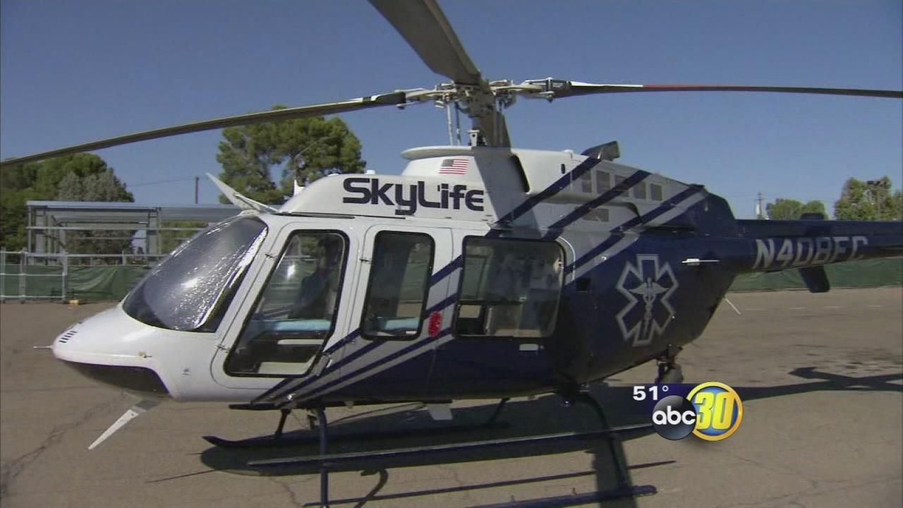 4 killed in Medevac helicopter crash in Kern County