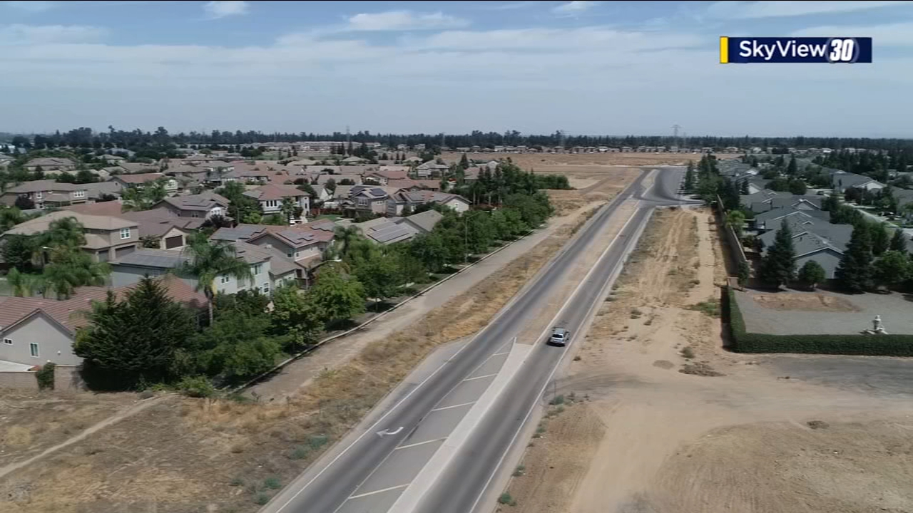 Work continues on project to expand Veterans Boulevard in Northwest Fresno