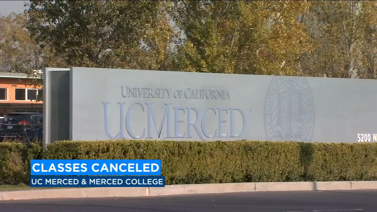 UC Merced and Merced College cancels classes due to air quality
