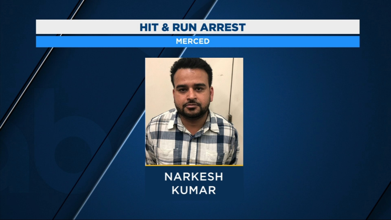 Livingston man arrested for fatal hit and run in Merced