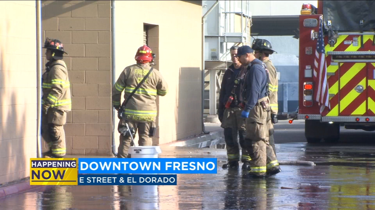 Severe flooding causes Post Office to close in Downtown Fresno