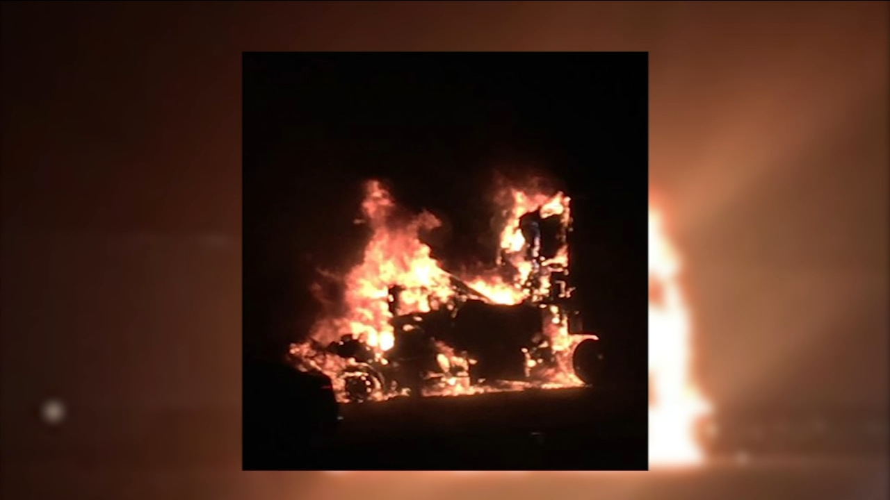 One person dead after fiery crash on Interstate 5 in Merced County