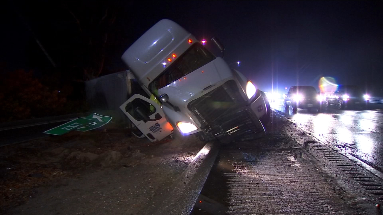 From strong winds to heavy rain, Thanksgiving Eve brought nothing but inclement weather for drivers hitting the road for the holiday.