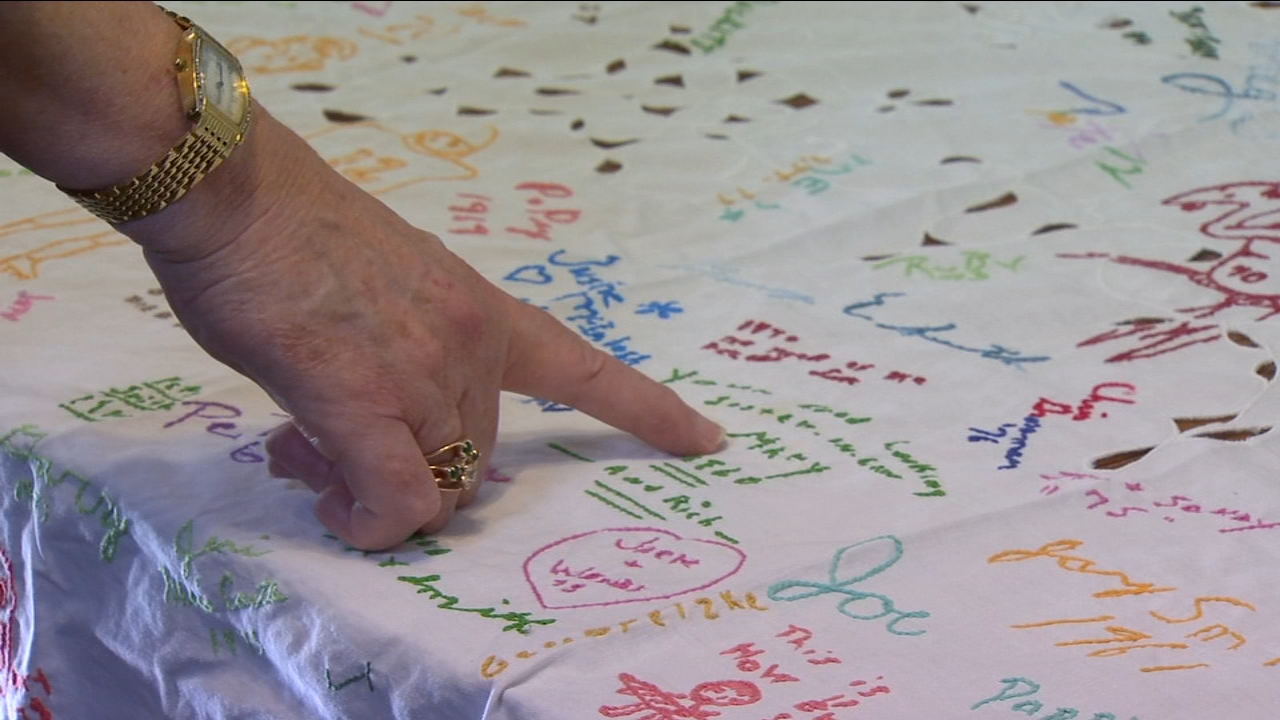 Family Tradition: A holiday tablecloth has helped one Merced family trace their history