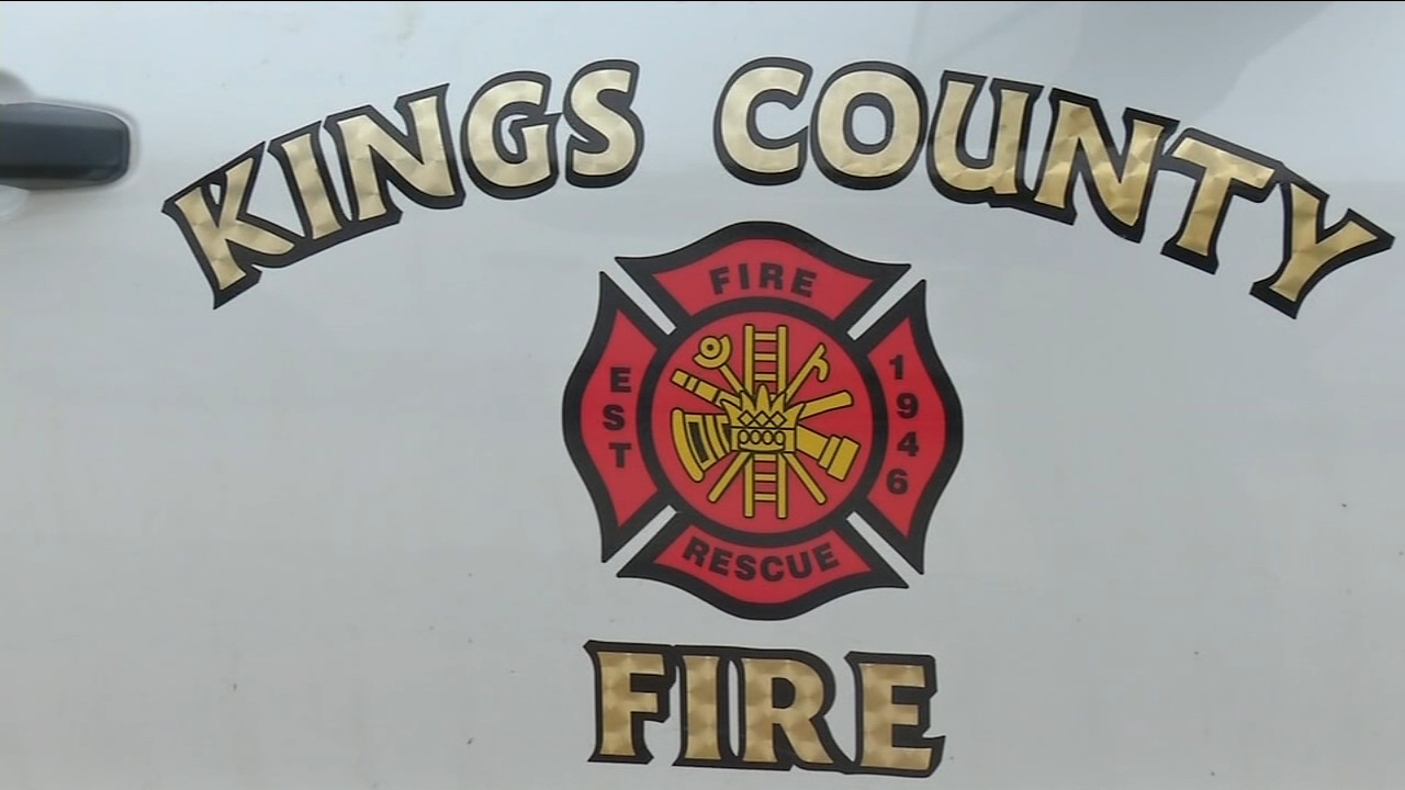 Veteran Kings County firefighter returns home after Woolsey, Camp Fires