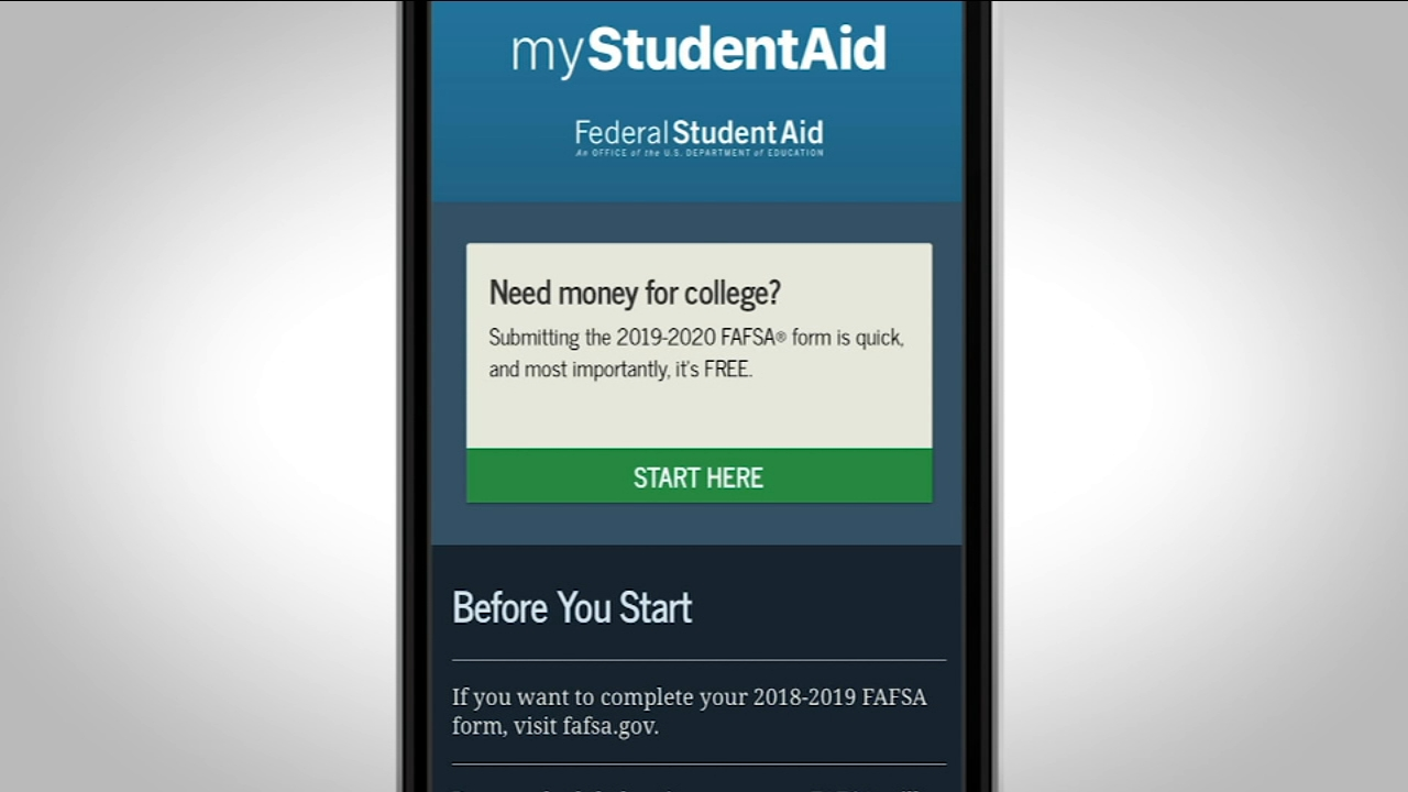 Consumer Reports: Apply for FAFSA with your phone