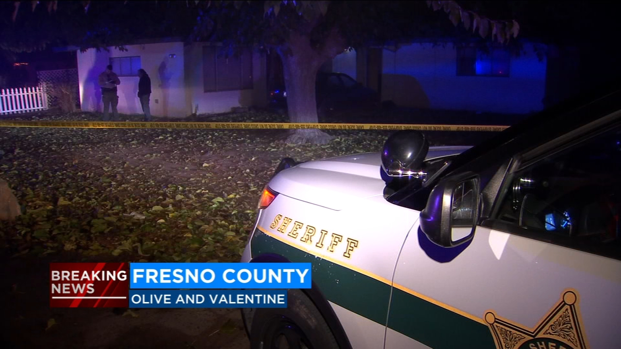 Fresno County Sheriffs deputies are investigating a home invasion that ended in a shooting