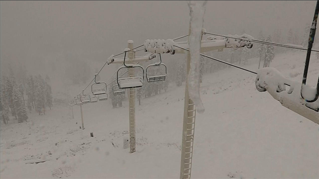 Snow from latest storm helps China Peak move closer to opening date for season.