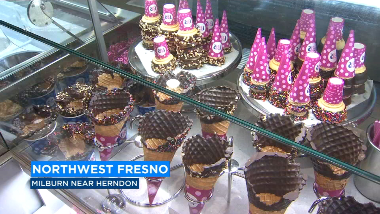 Baskin Robbins is unveiling its first next generation store on Wednesday -- and its located in northwest Fresno.