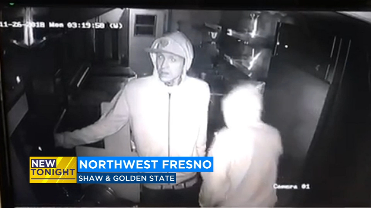 Owners of the Tacos El Super taco truck are hoping surveillance video will help police track down two suspects who broke into their business while it was parked on Shaw in northwes