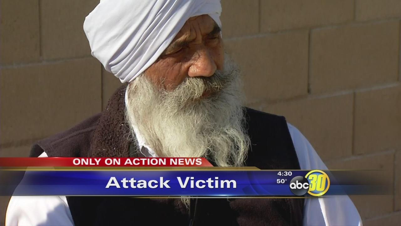 attack victim