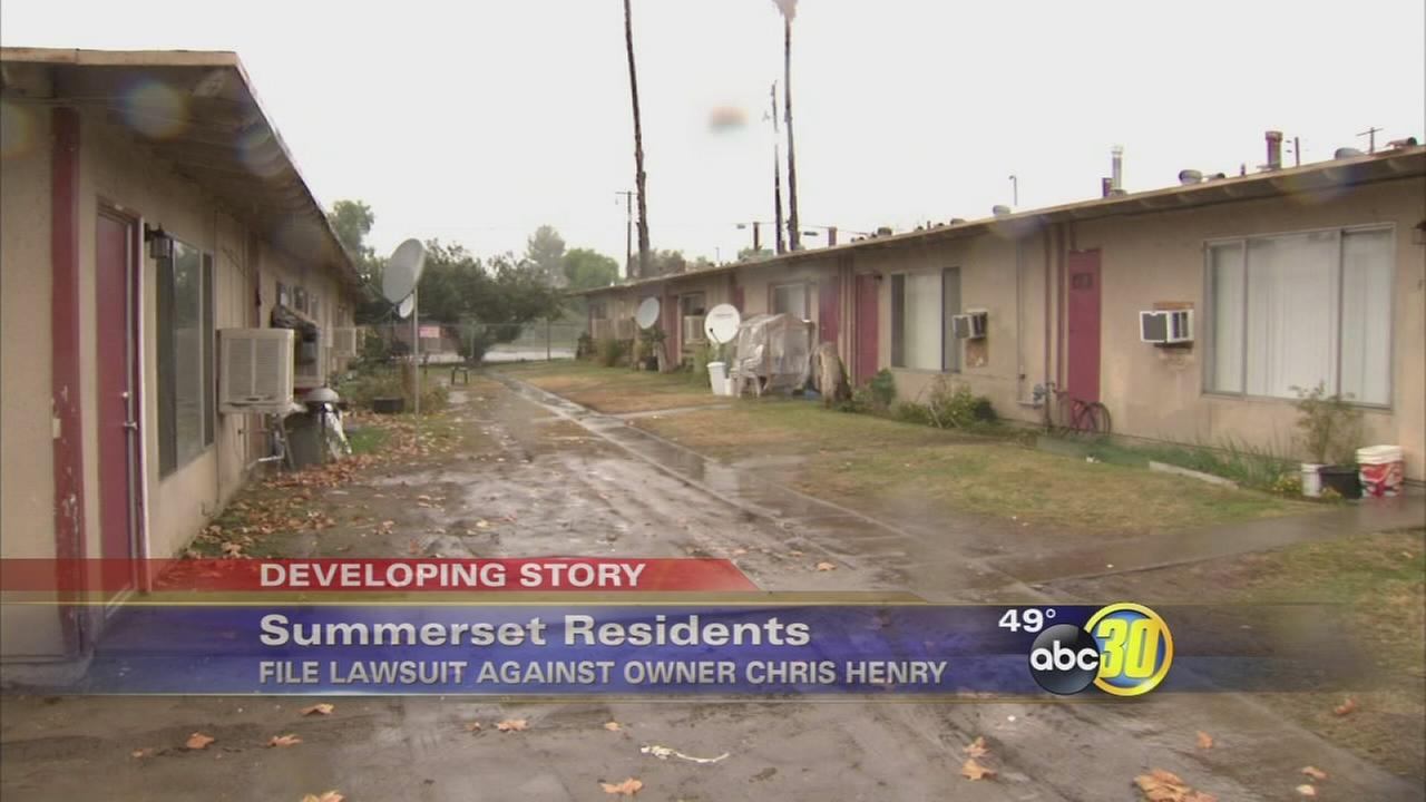 Residents sue owner of Summerset Village Apartments