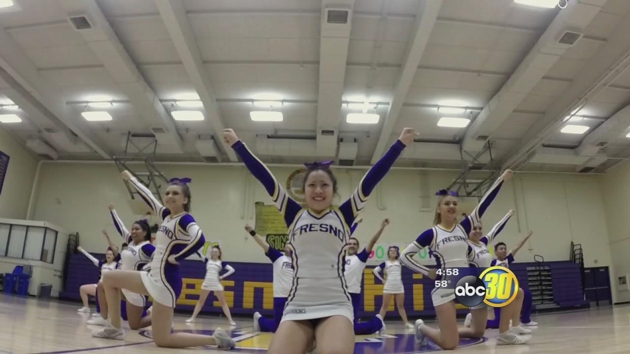 Fresno High School cheer squad making history