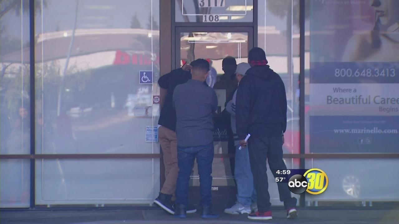 Fresno students shocked by abrupt closure of Marinello Beauty School