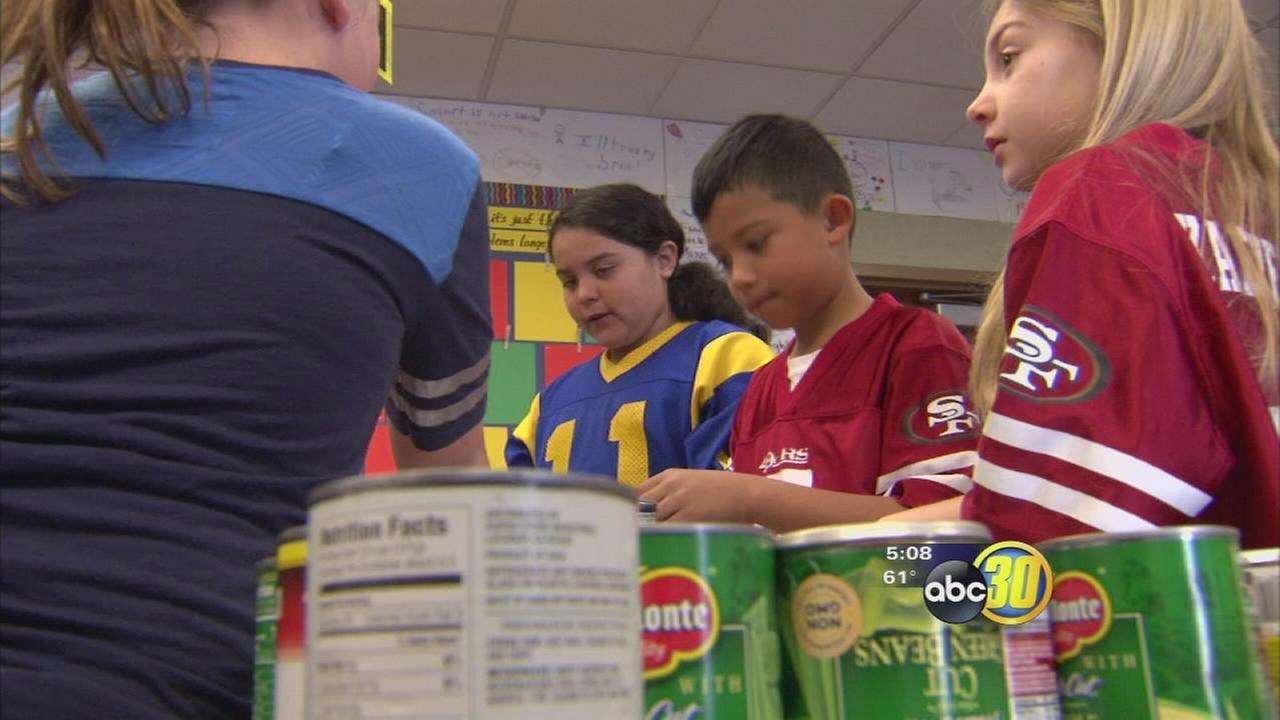 New KeywFresno third graders hold Soup-er Bowl for charityord