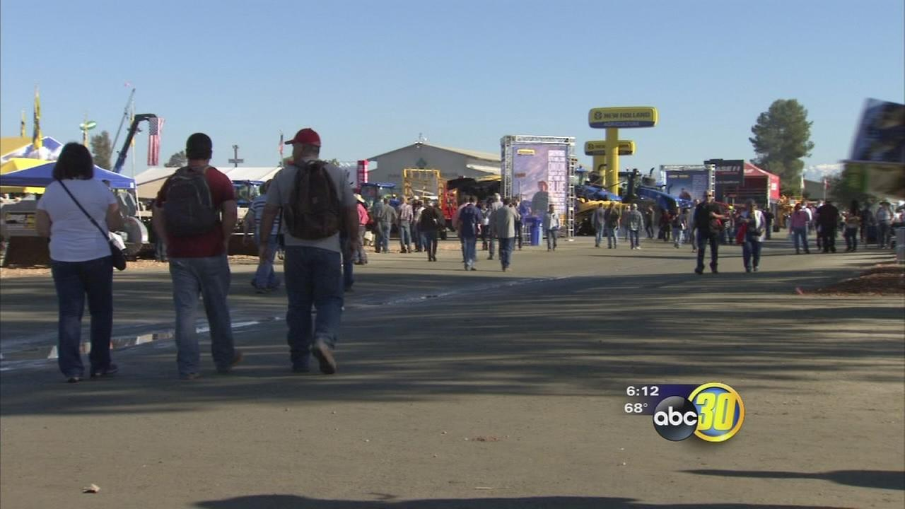 Day 1 of the World Ag Expo draws thousands in to see the latest innovations in Ag
