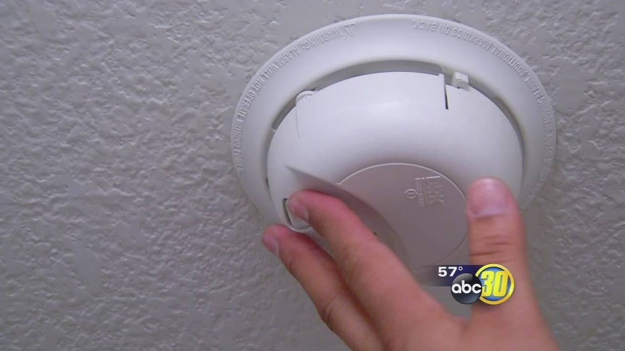 Fresno fire asks people to check smoke alarms in hopes of saving homes and lives