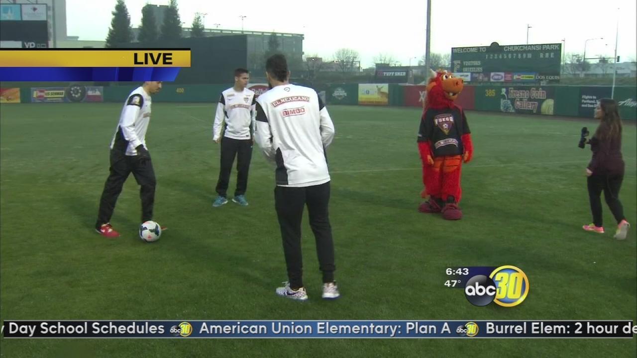 Fresno Fuego gear up to kick off soccer season