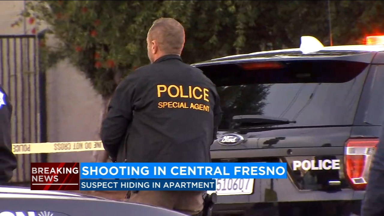LATEST: Police investigating a shooting at Parks Apartments in Central Fresno