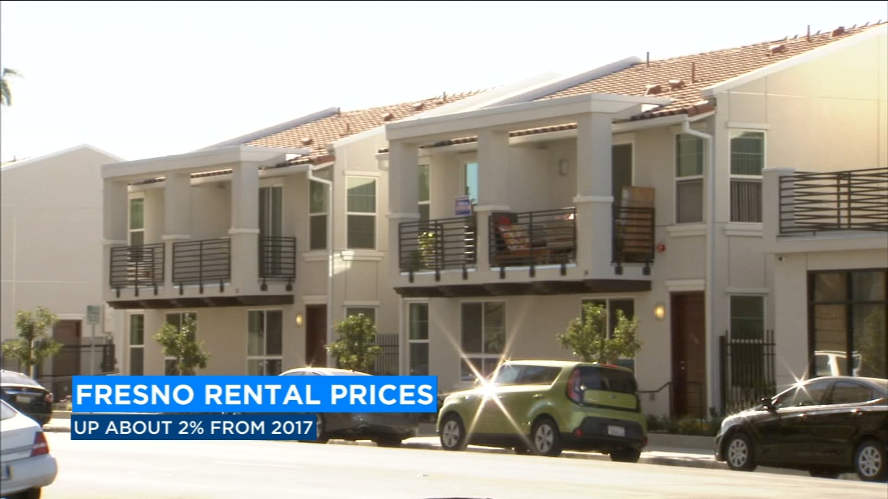 Rent prices increases 2% over the last year in Fresno