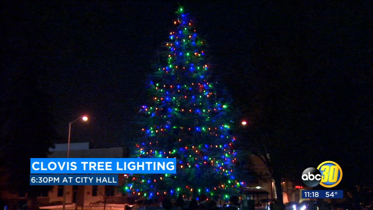 Dozens of families are expected to turn out for Monday nights Annual Tree Lighting in Clovis.