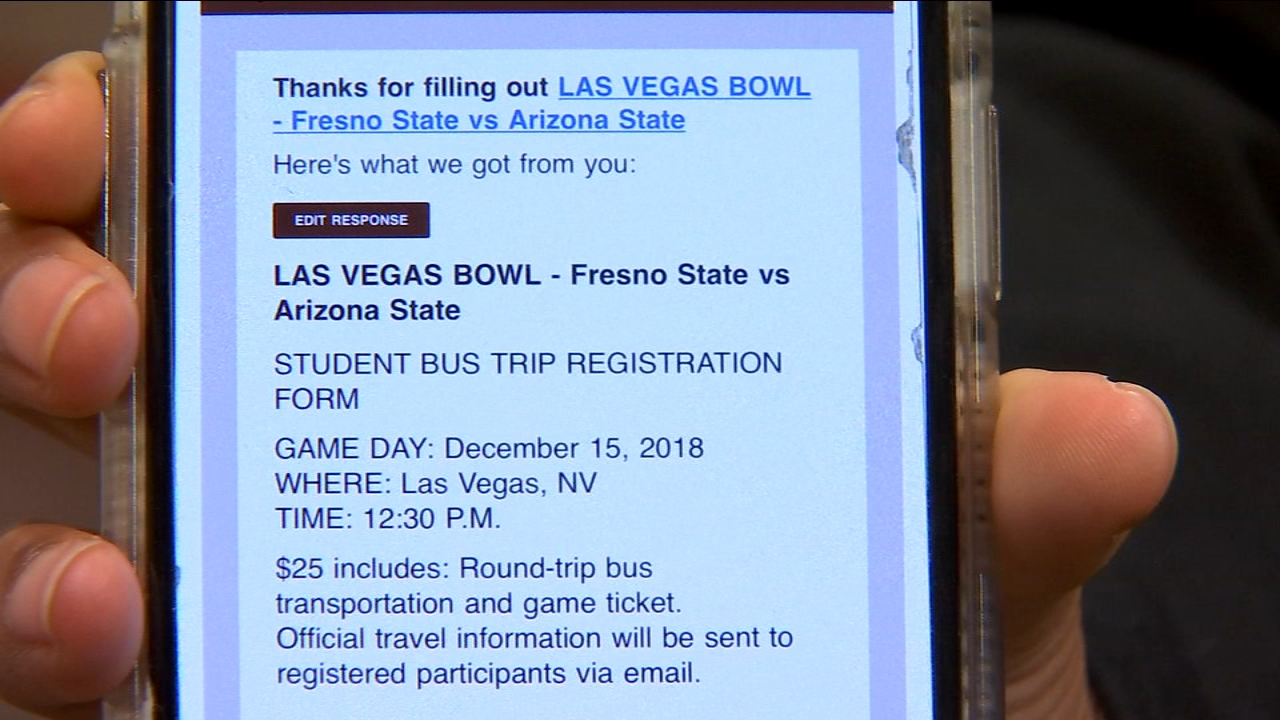 Fresno State students: you dont have to drive yourself to the Las Vegas Bowl next week