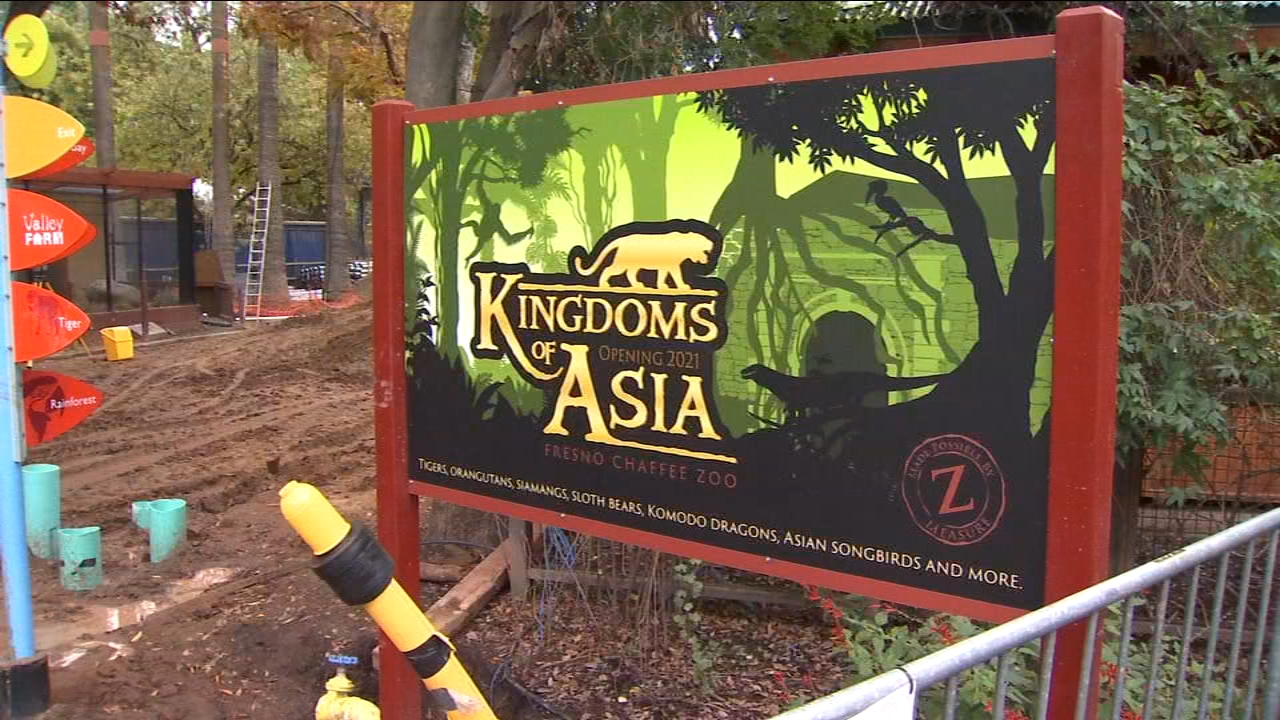 Fresno Chaffee Zoo prepares for next big exhibit