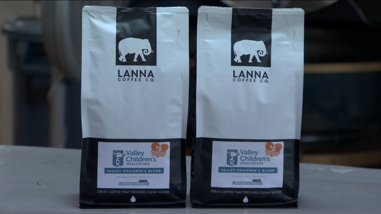 Local coffee shop creates special blend to benefit Valley Childrens Hospital