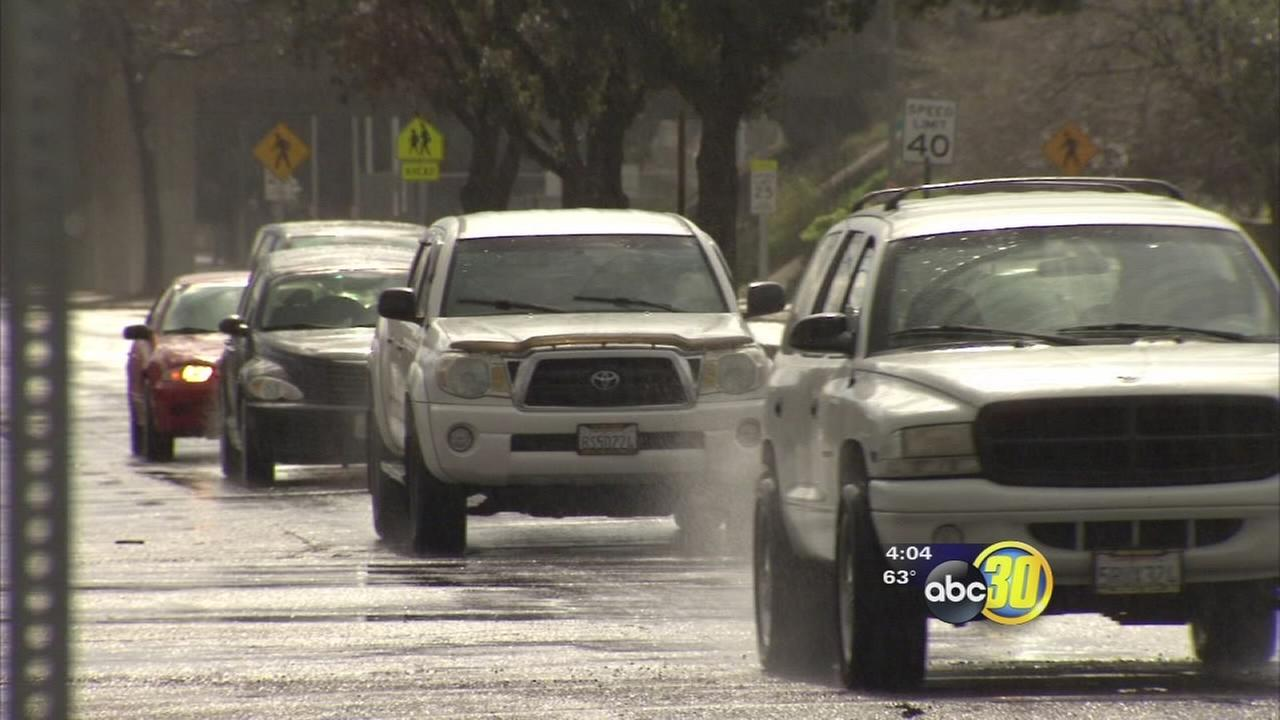 Recent storm caused quite a mess for Fresno drivers