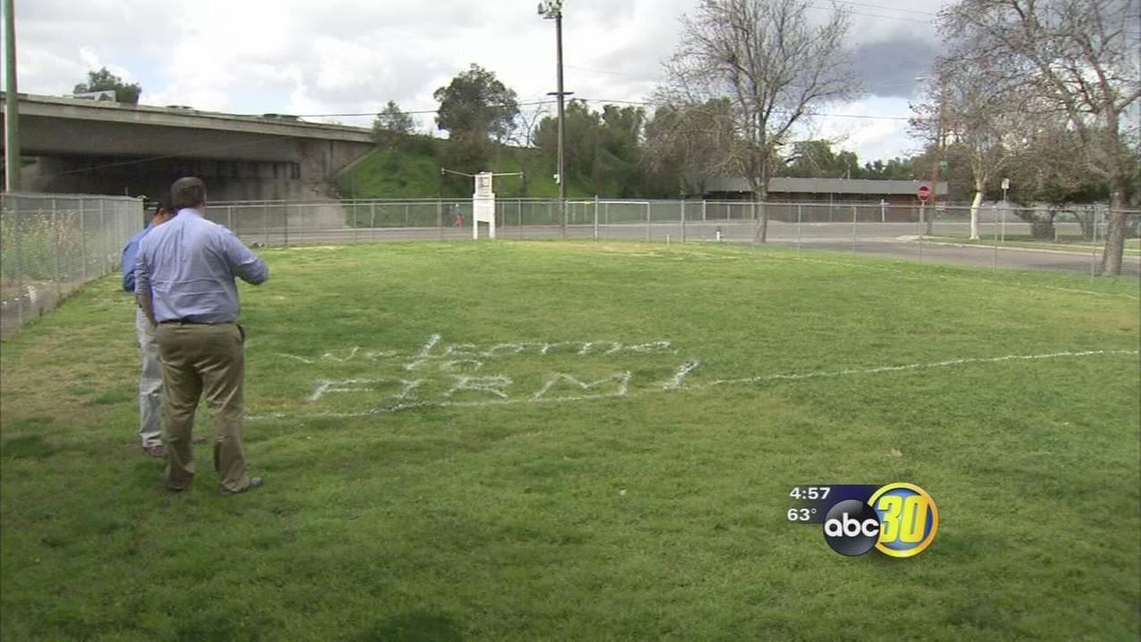 Impoverished Fresno neighborhood to get new playground built