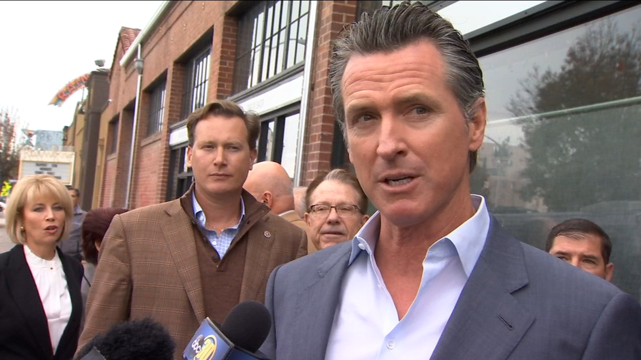 The Governor Elects visit to Fresno comes as the future of the massive high speed rail project is in doubt. Gavin Newsom told us he wants to see the project completed.