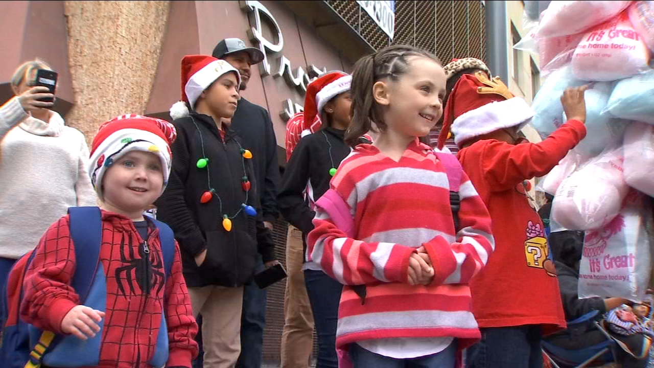 Thousands come out for the 89th annual Downtown Fresno Christmas Parade