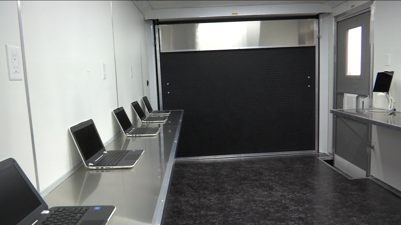 One man is realizing his dream of combining a high-tech classroom and a production van and taking it into rural areas.