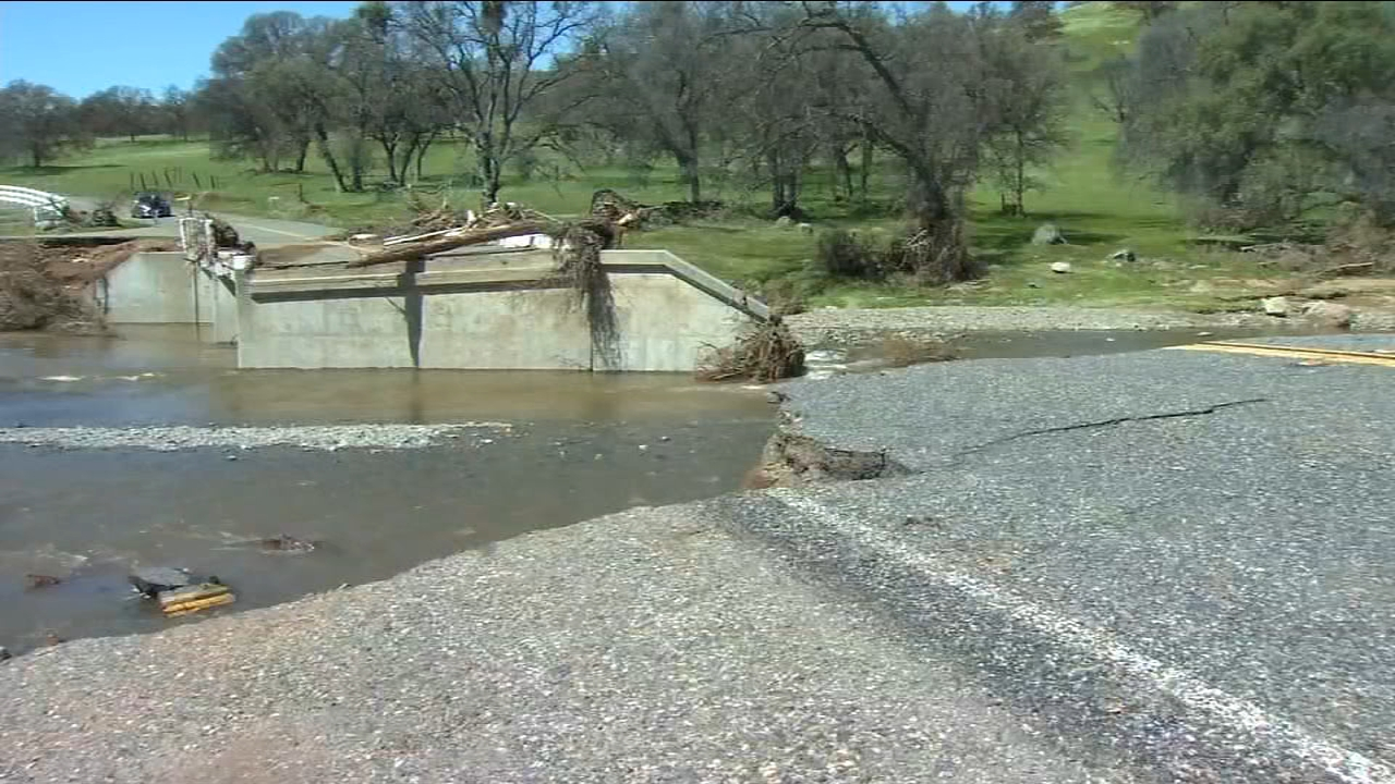Mariposa County receives funding for road damage caused by storms
