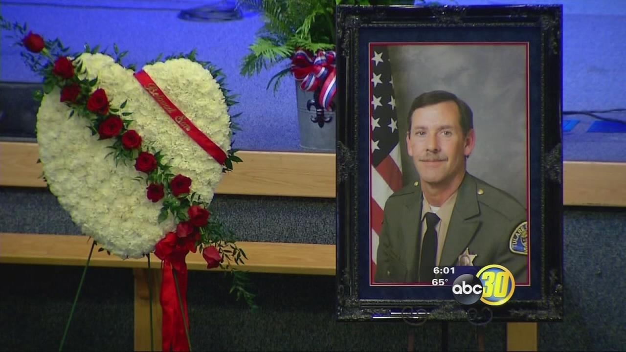 Deputy Scott Ballantyne remembered in Visalia