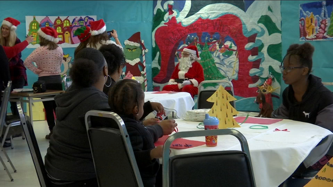 The womens correctional facility in Chowchilla was full of holiday cheer this year as part of the Angel Tree Program.