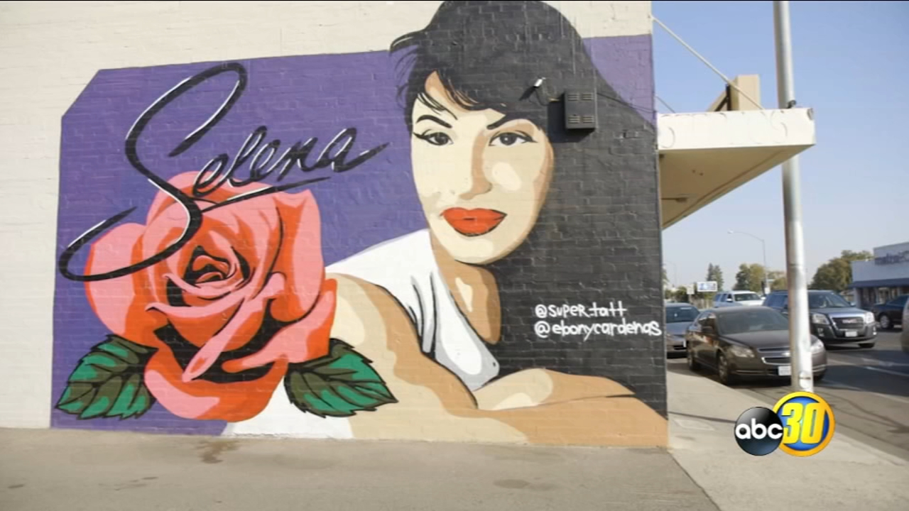 The Selena mural in Southeast Fresno is an Instagram favorite! The man behind the popular mural wants to paint one hundred murals to improve parts of Fresno.
