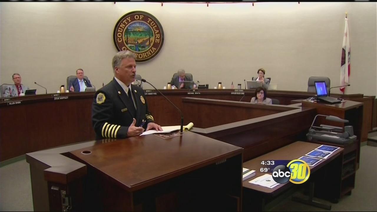 New Tulare County Fire Chief sworn in