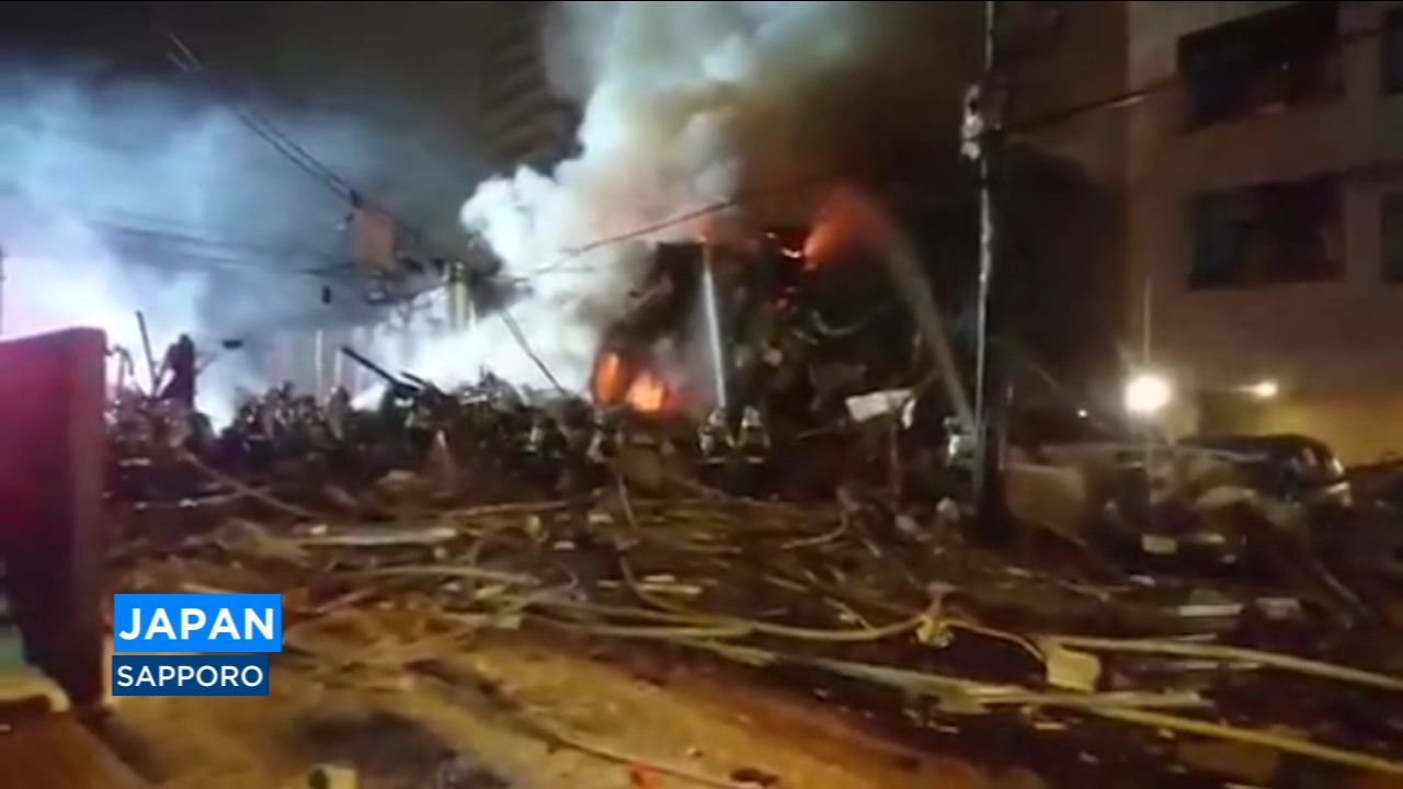 More than 40 people were injured in an explosion Sunday night at a Japanese restaurant in northern Japan, police said.