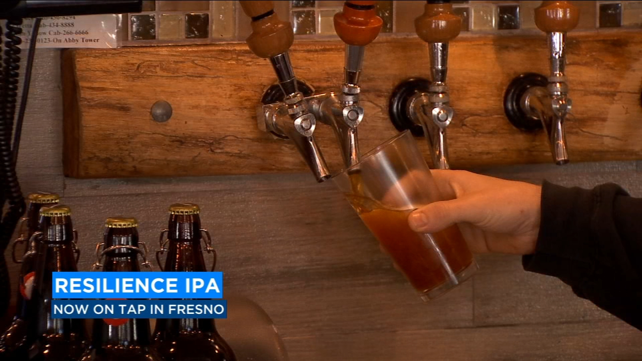 Calling all beer lovers! Resilience IPA is now on tap in Fresno.