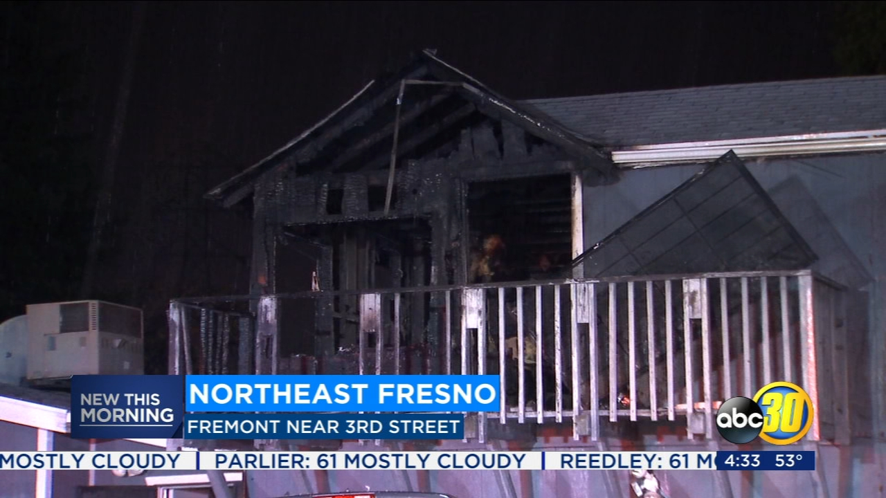 A fire investigator is looking into the cause of early morning house fire in Northeast Fresno.