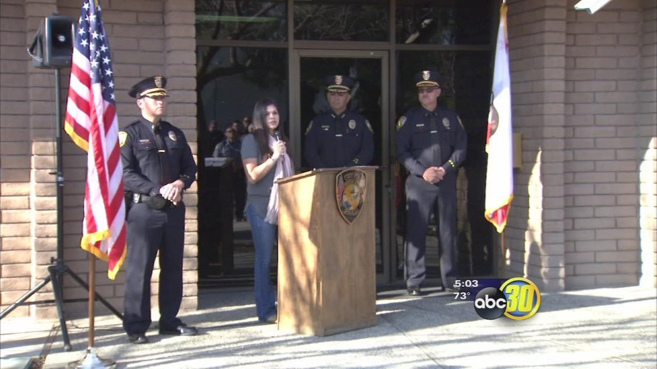 Officers and families pay tribute 6 years after 2 officers were killed in shoot out in Minkler