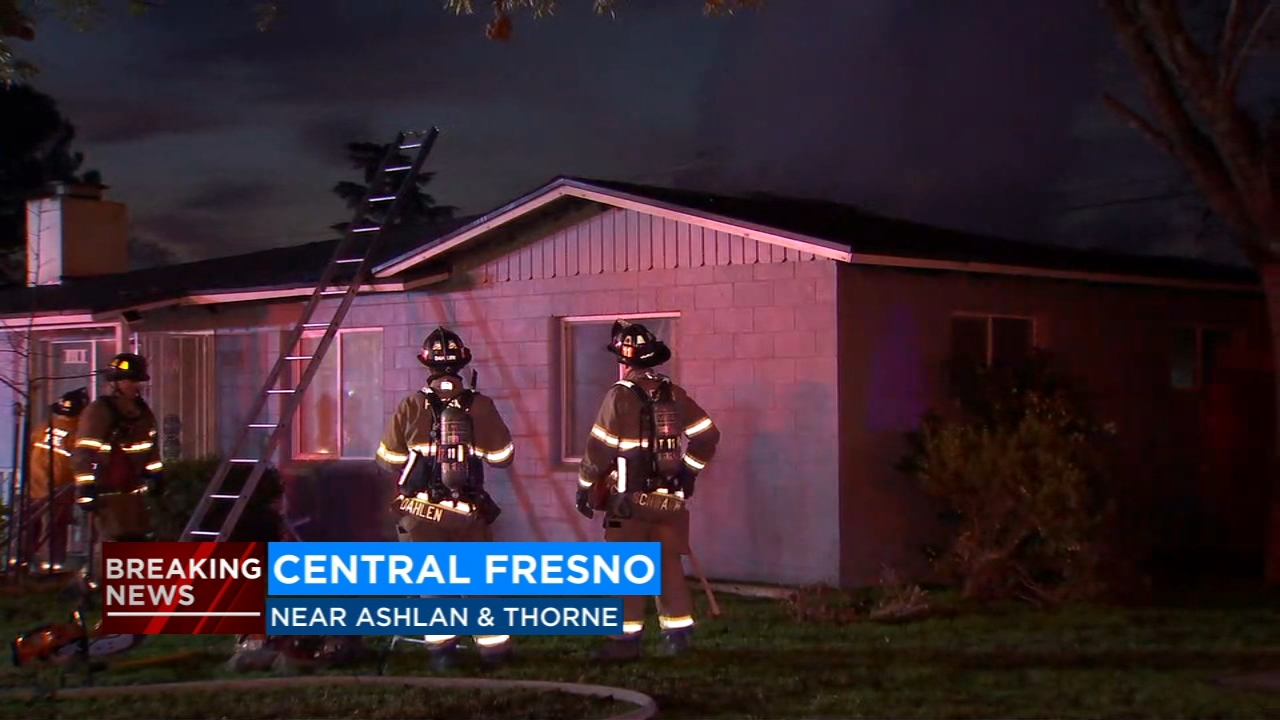 The Red Cross is now helping a family that was able to escape an early morning house fire in Central Fresno; the cause is under investigation.