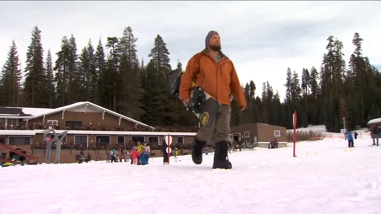 Snowboarders and skiers could celebrate a white Christmas as they head to Yosemite National Park.
